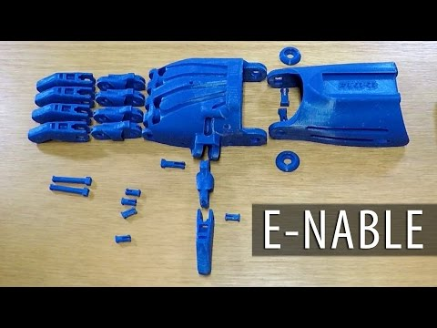 3D Printing and Assembling a 3D Printed Enabling the Future Raptor Reloaded Prosthetic Hand