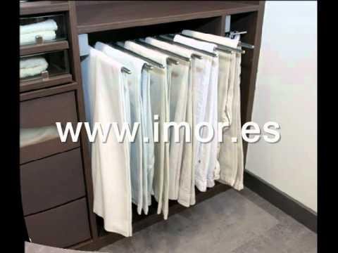 Complementos para armarios y vestidores imor 02 youtube - Complementos para armarios ...