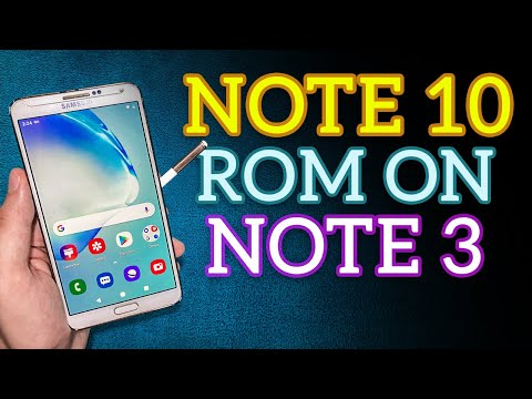 Install Galaxy Note 10 Rom For Galaxy Note 3