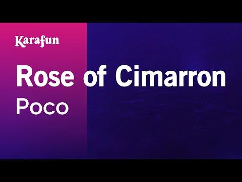 Karaoke Rose of Cimarron (Live) - Poco *