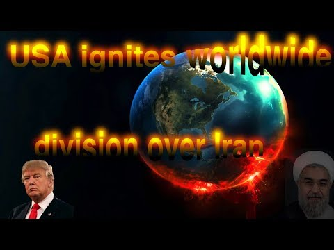 Incredible Prophecy Developments; 'USA ignites worldwide division over Iran' mp4