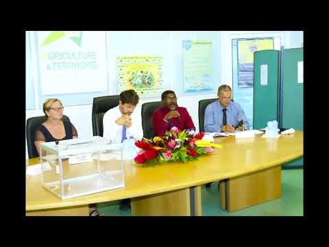 Election du Président de la Chambre d'Agriculture - Reportage Guadeloupe 1ère Radio 03-1-2017