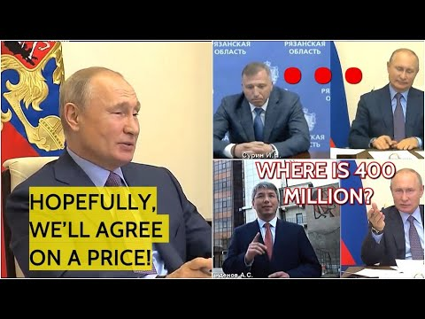 Speechless Before Putin Funny Situation With The Russian President During Video Conferencing Youtube