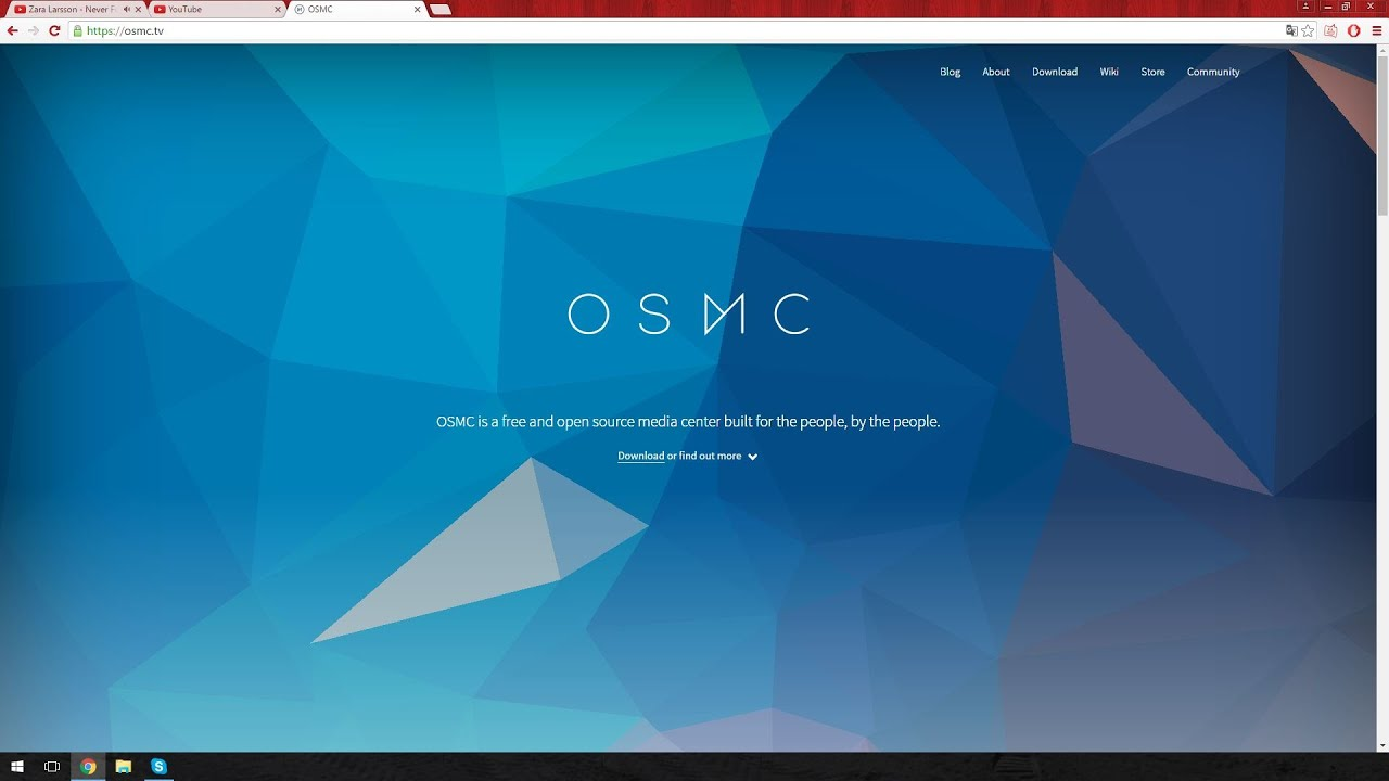 installation af OSMC på en Raspberry pi