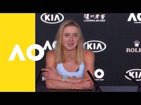 Elina Svitolina pre-event press conference   Australian Open 2019