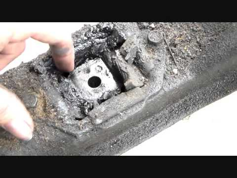 Volvo 940 Engine Diagram Boat Battery Selector Switch Wiring 740 760 Automatic Transmission Mount Replacement Youtube