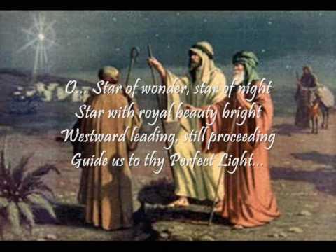 We Three Kings of Orient Are by Olivia Newton-John (onscreen Lyrics)