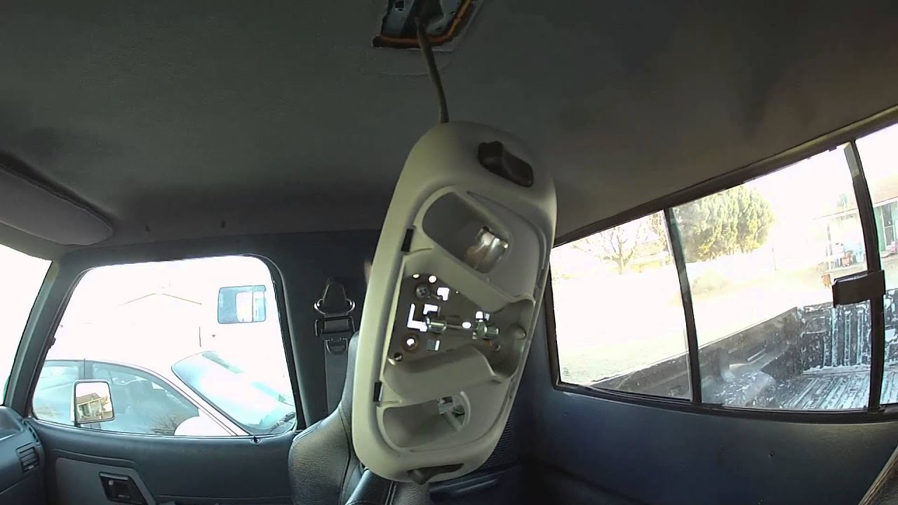 ford ranger dome light youtube rh youtube com Ford Mustang Interior Ford Mustang Chassis