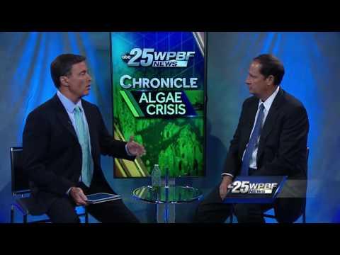Sen. Joe Negron talks about algae bloom issue