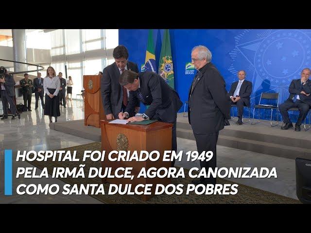 Governo libera R$ 18 milhões para as Obras Sociais Irmã Dulce, na Bahia