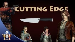 Resident Evil Revelations 2 - Cutting Edge (Full Game Speed Run Using Only Knife)