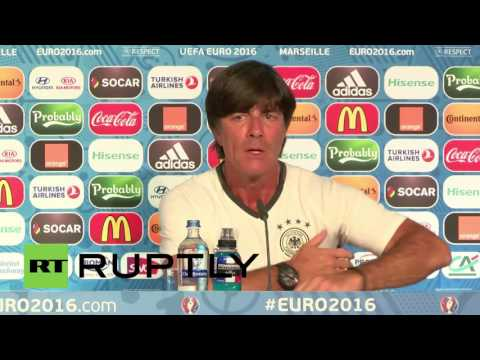 France: Low and Kroos confident ahead of France semi-final showdown