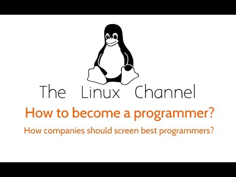 230 How to become a programmer?  And how companies should screen talented programmers?