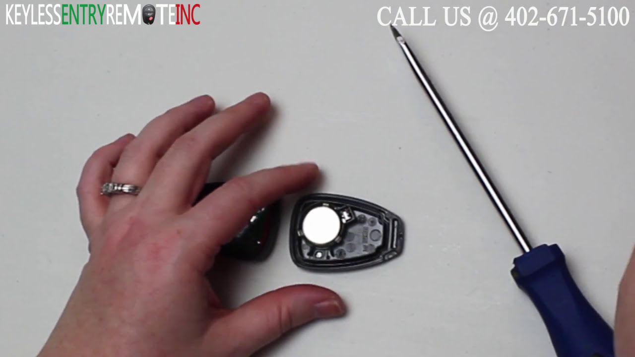 Jeep Key Fob Battery >> How To Replace Jeep Patriot Key Fob Battery 2007 - 2012 - YouTube