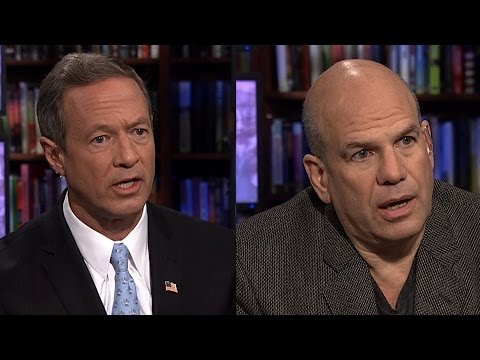 "Martin O'Malley vs. David Simon of ""The Wire"""