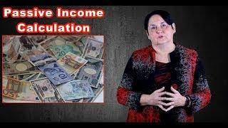 Passive Income Calculation in Canada