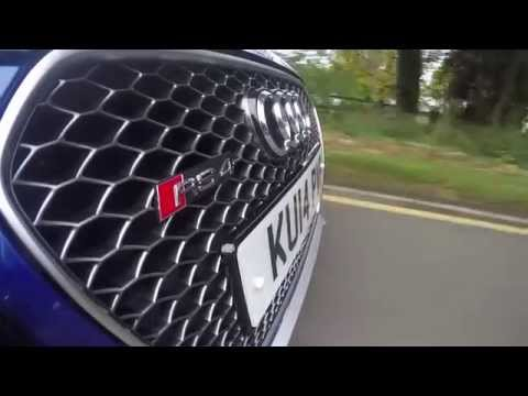 2014 Audi RS4 estate for Reliance Car Hire