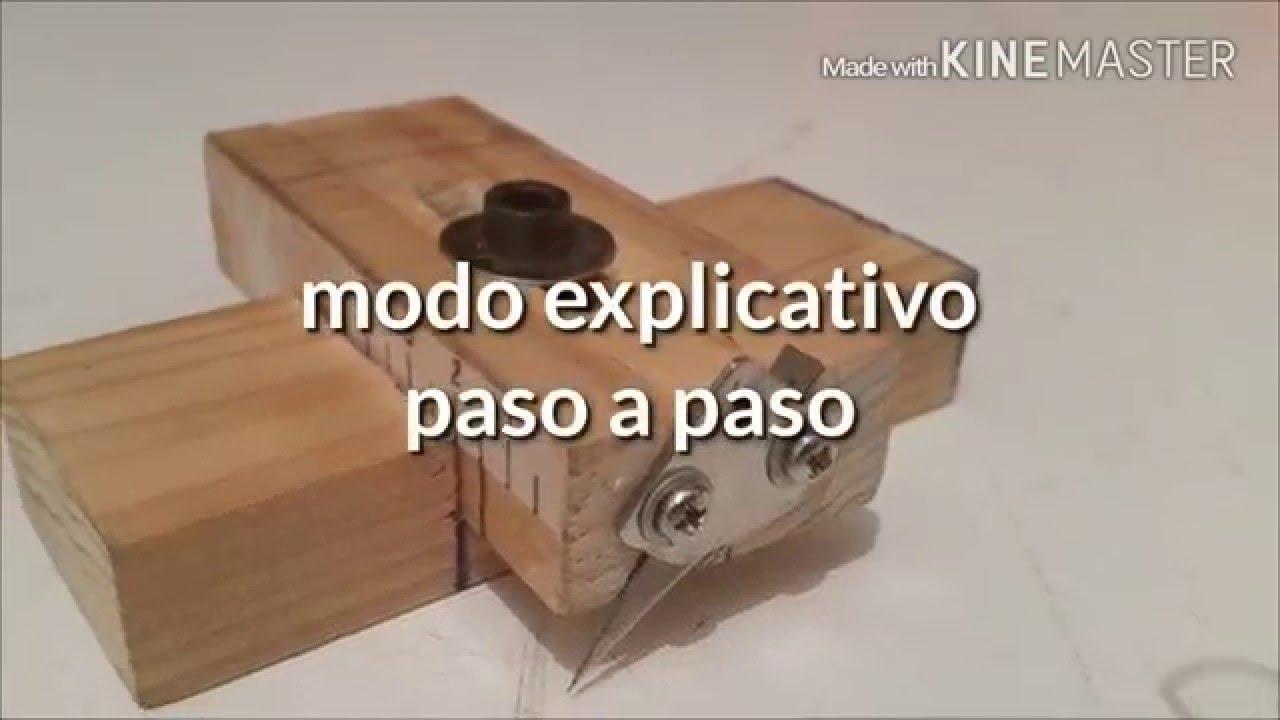 Como hacer cortador de maderas casero how to make - Como hacer membrillo casero ...