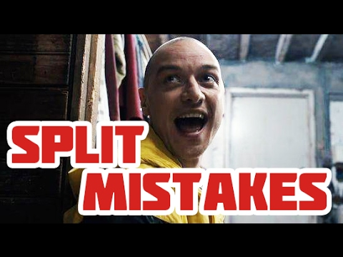 SPLIT Movie Mistakes, Bloopers, Goofs, Facts, Fails and Funny Scenes You Missed