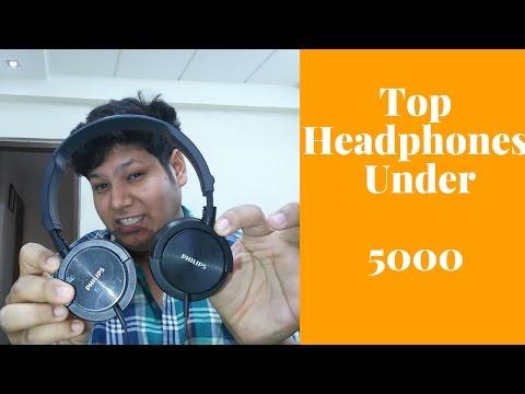 Top HEADPHONES under 5000 INR