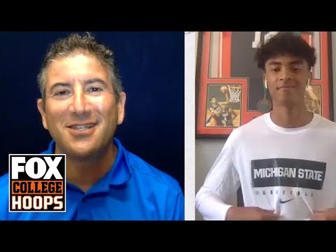 2021 Five-Star, Max Christie, Commits to Michigan State | FOX COLLEGE HOOPS