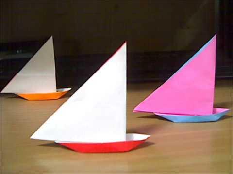 簡単 折り紙:折り紙 船の作り方-youtube.com