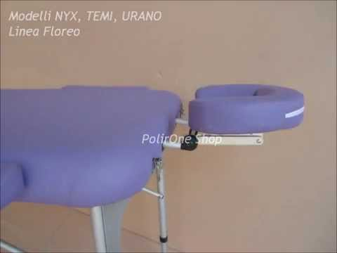 Lettino Massaggio Portatile San Marco.Lettino Professionale Portatile In Alluminio Per Massaggi E