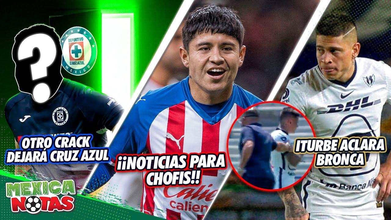 CONFIRMADO:Otro crack DEJARÁ Cruz Azul|EXCELENTES noticias para Chofis|Iturbe ACLARA BRONCA en Pumas