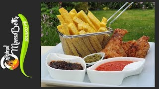 HOW TO FRY CRISPY YAM CHIPS