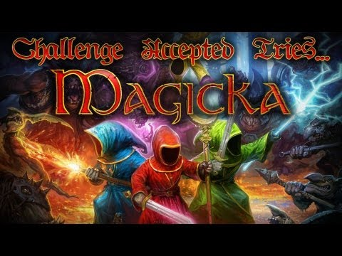 Magicka - Team Building Exercise!