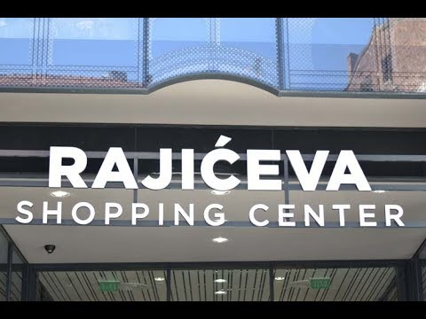 Rajićeva Shopping Center Beograd First Look Youtube