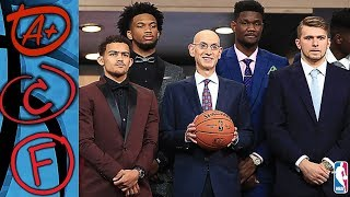 2018 NBA Draft Report Card For All 30 Teams