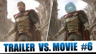 Spider-Man: Far From Home | Trailer vs. Movie: Part 6