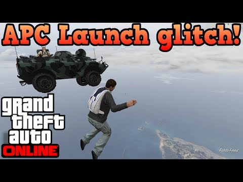 Gunrunning APC launch glitch! - GTA Online