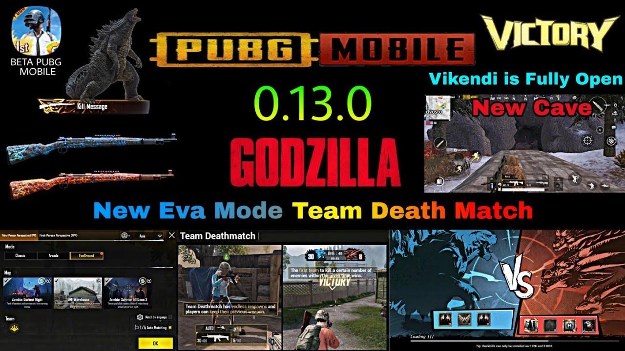 Pubg Mobile Godzilla Update Date Pubg Mobile Zone Hack