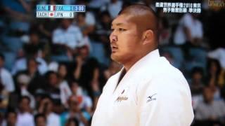 2010年柔道世界選手権 無差別級準決勝 リネールVS立山広喜