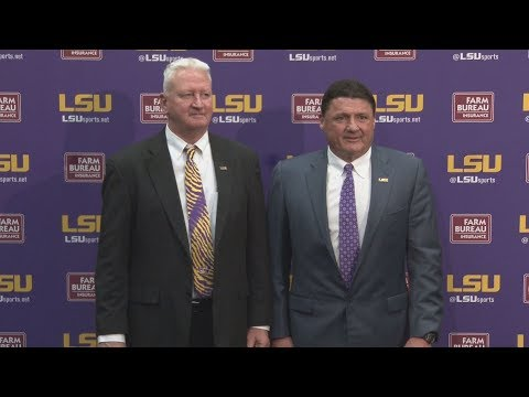 """I spent my entire career thinking about this opportunity."" New LSU Off. Coordinator Steve Ensminger"