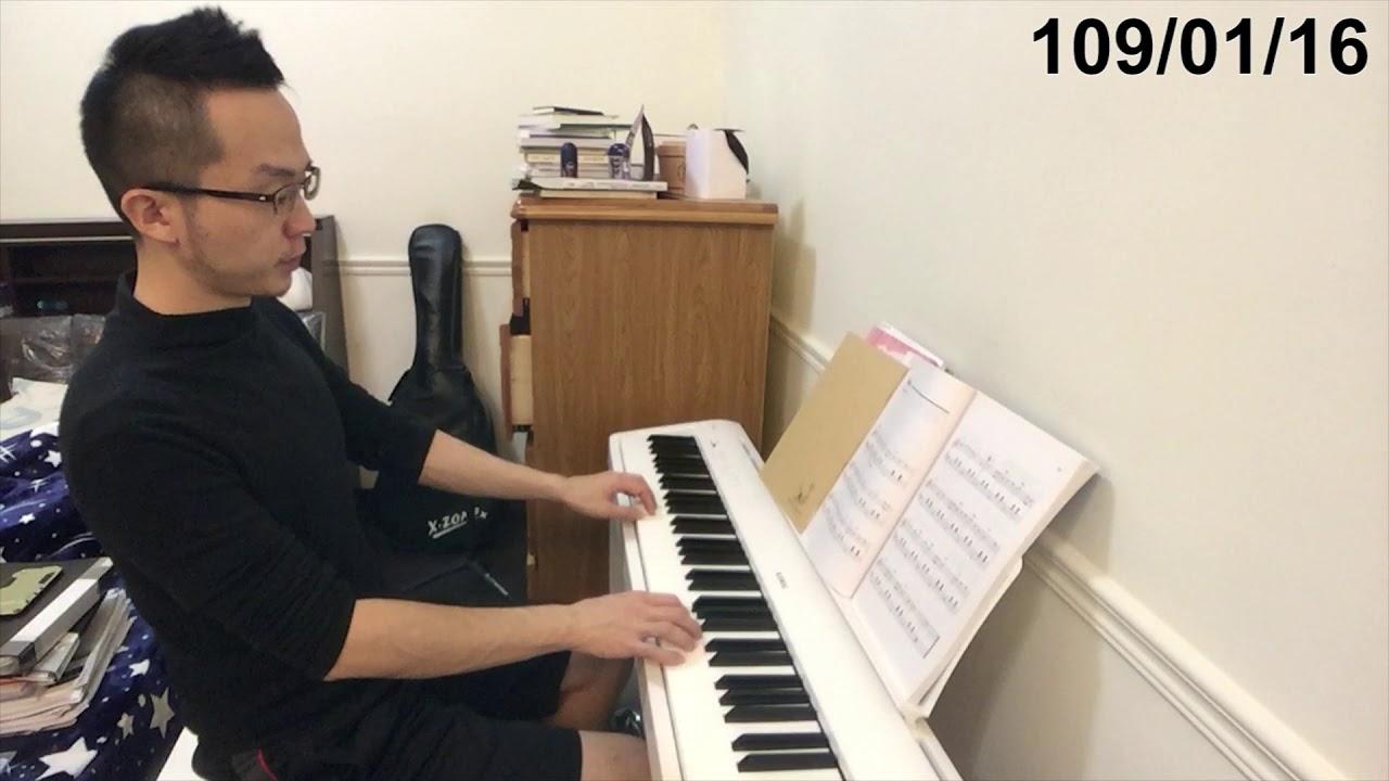 【鋼琴紀錄#8】練習Am和弦 新左手配樂及新歌曲(2M2W) - YouTube