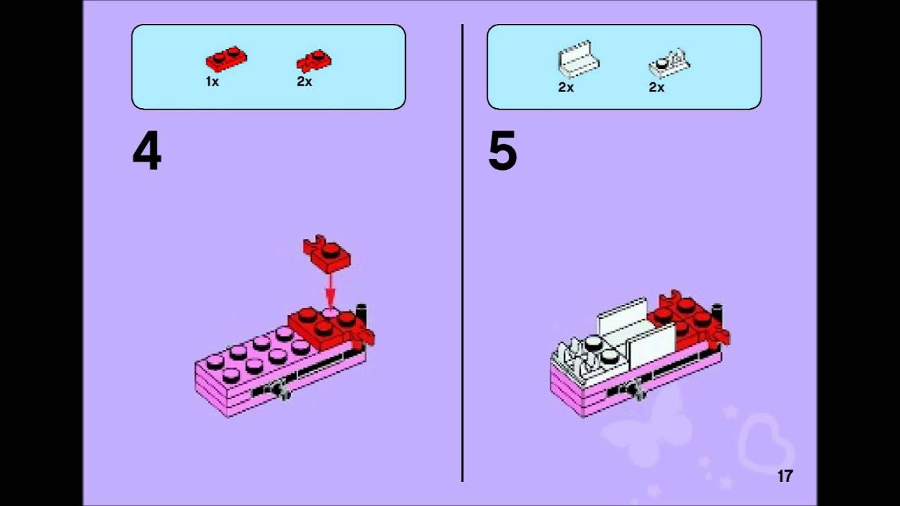 Lego Friends 41030 Olivias Ice Cream Bike Building Instructions