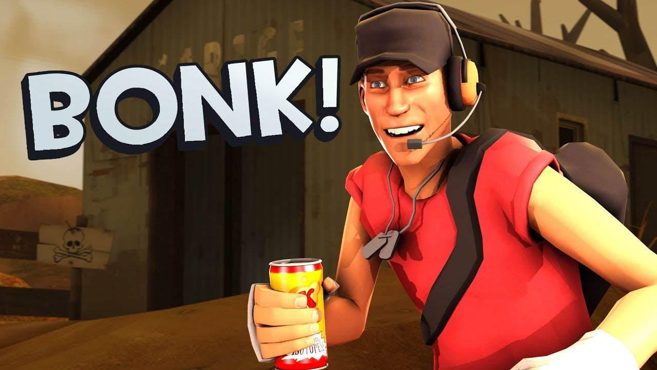 Tf2 Scout S Pouch Bonk Atomic Punch Youtube