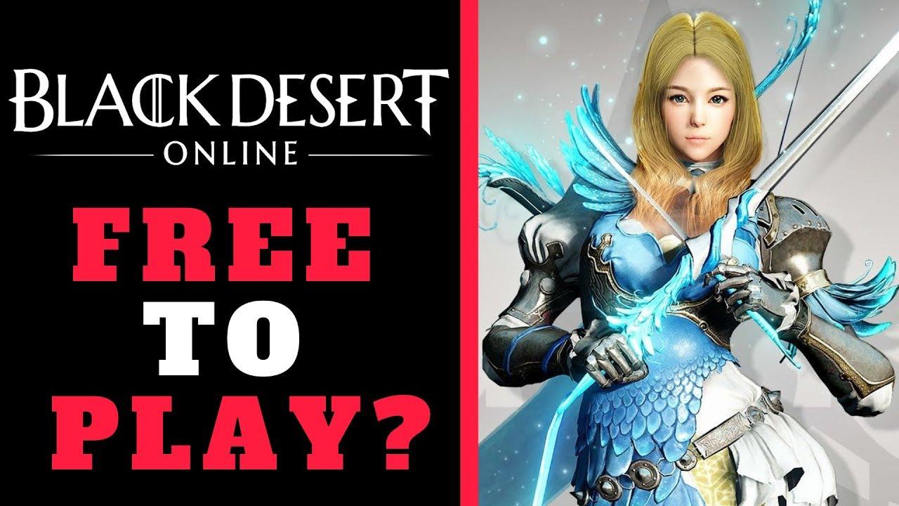 black desert online free to play 2018