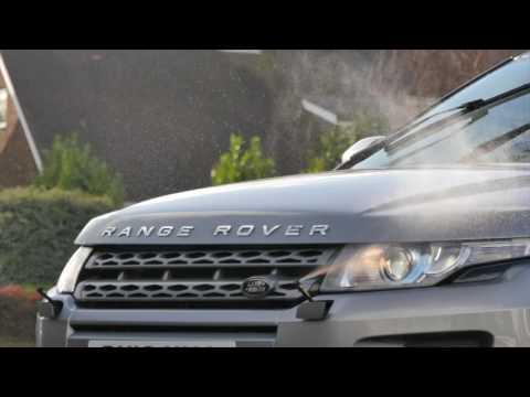 Range Rover Evoque Headlamp Wash