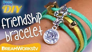 Suede Friendship Bracelets | SPIRIT DIY