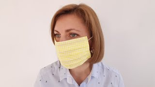 Защитная МАСКА для лица из салфетки за 5 минут