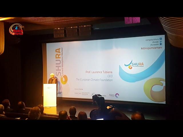 SHURA Tanıtım Toplantısı European Climate Foundation GM Prof.Laurence Tubiana Konuşması