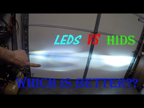 HID vs LED comparison which is better? A true review!!