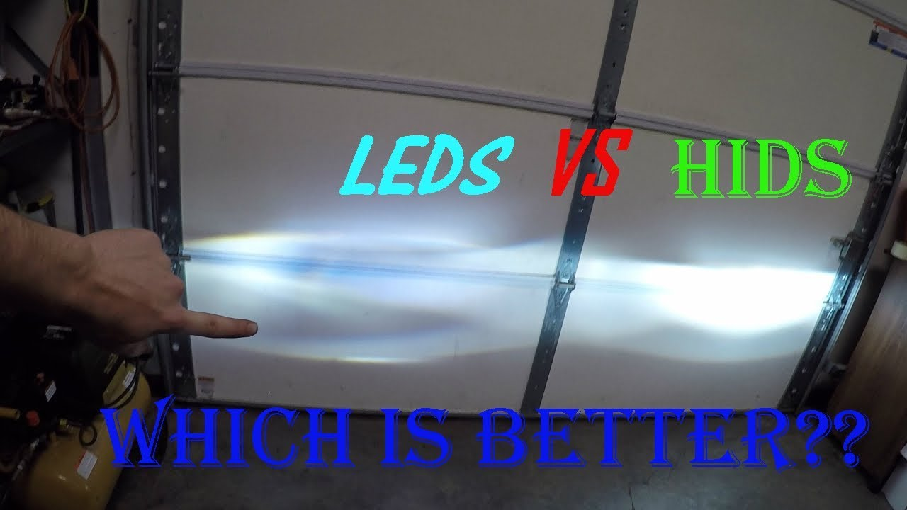 Led Headlights Vs Hid >> HID vs LED comparison which is better? A true review ...