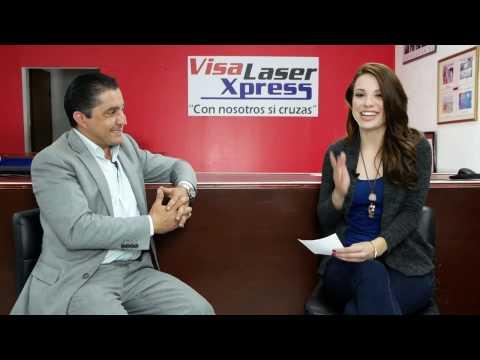 Tramite de visa, Visa Laser Xpress, Informercial  1