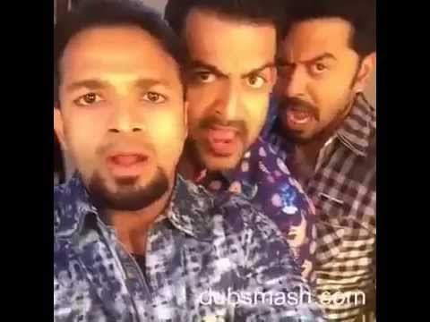 malayalam dubsmash Prithviraj jayasurya Indrajith in malayalam movie Amar Akbar Anthony