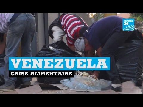 Dans un Venezuela en crise, la faim pousse les habitants à fouiller les poubelles